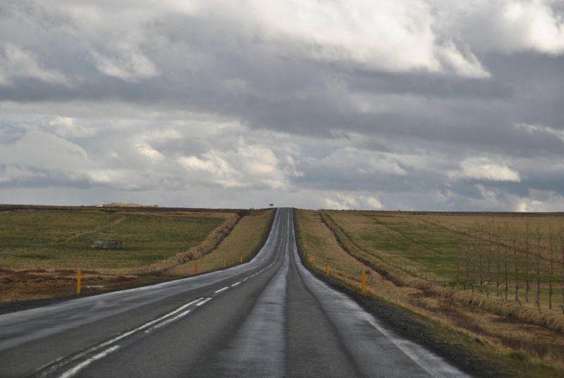 Op weg naar Reykjavik