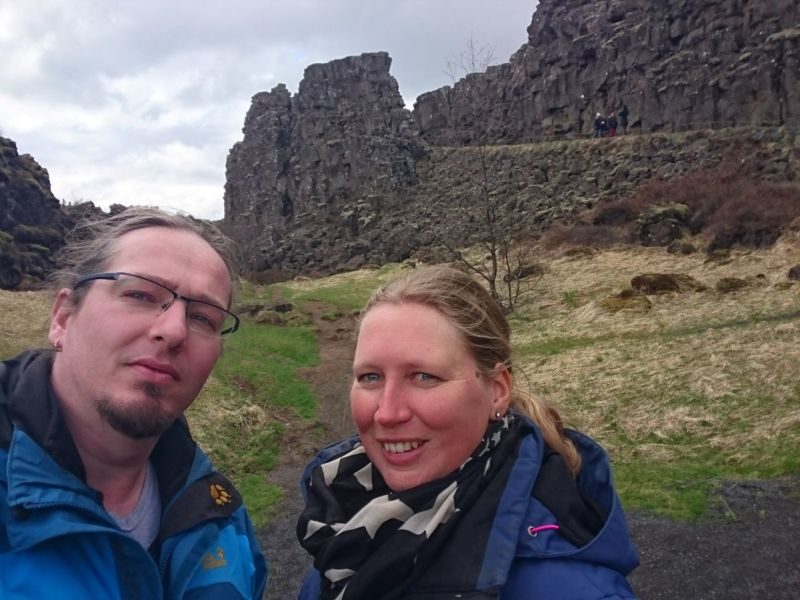 Samen bij þingvellir