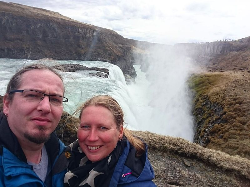Van watervallen worden wij blij!